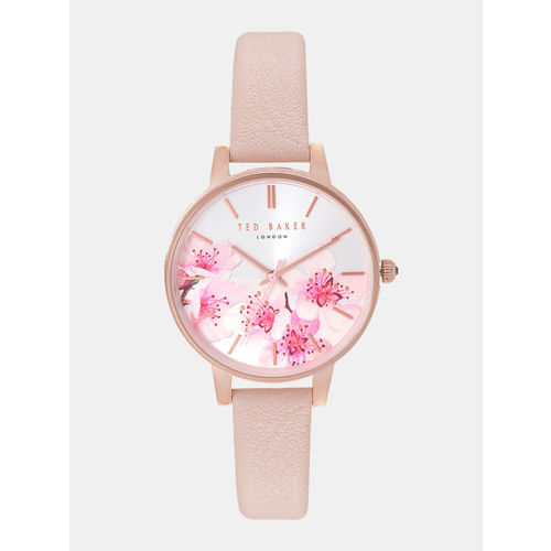 93c853fd0 Buy Ted Baker Women Silver-Toned   Pink Analogue Watch TE50272004 ...
