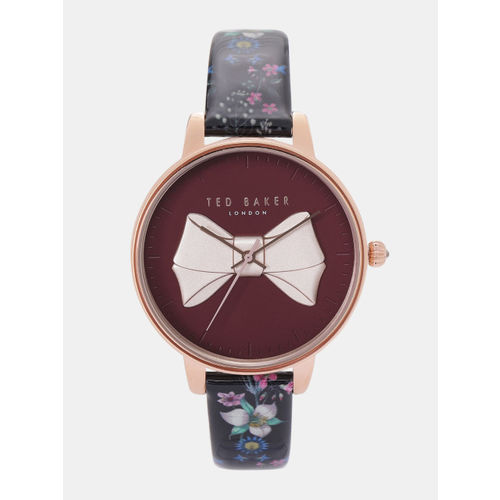 Ted Baker Women Maroon & Beige Analogue Watch TE50533003_OR