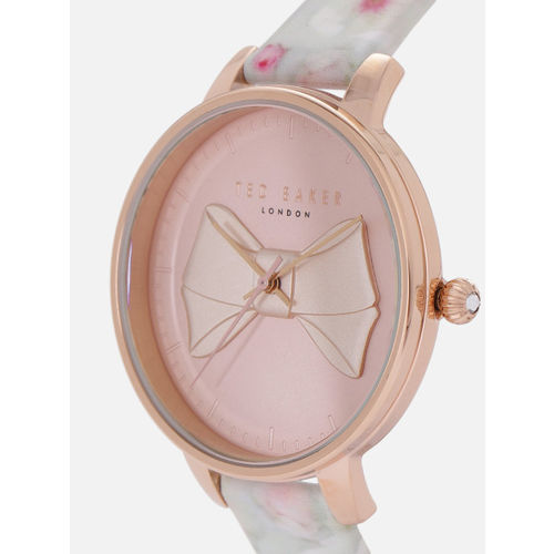 Ted Baker Women Pink & Beige Analogue Watch TE50533001_OR