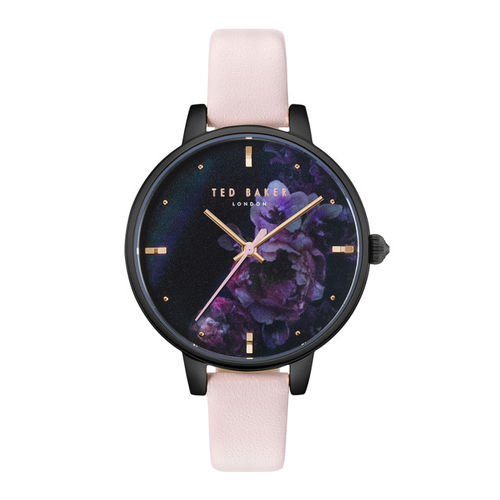 Ted Baker Women Navy Blue & Pink Analogue Watch TE50005020