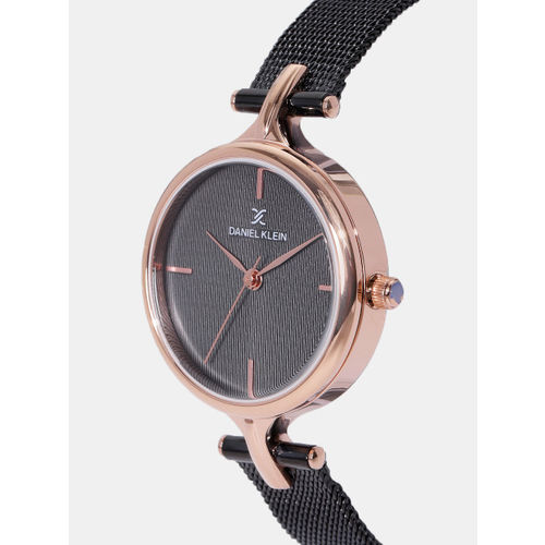 Daniel Klein Premium Women Black Analogue Watch DK11914-3