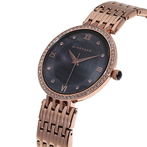 Giordano Analog Black Dial Women's Watch - A2060-11
