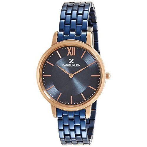 Daniel Klein Premium-Ladys Analog Blue Dial Women's Watch - DK11718-6