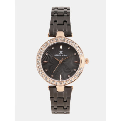 Daniel Klein Women Black Analogue Watch v