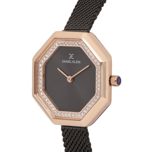 Daniel Klein Women Black Analogue Watch DK11721-6