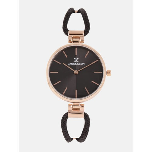 Daniel Klein Black Analogue Watch DK11915-7