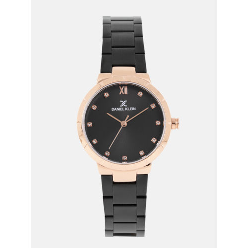 Daniel Klein Women Black Analogue Watch