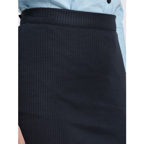 Trend Arrest Women Navy Pencil Skirt