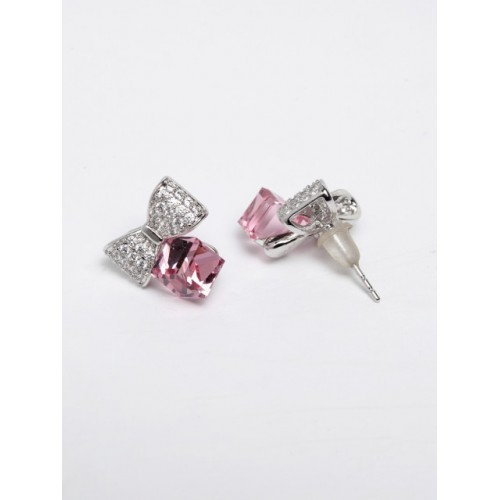 AVANT-GARDE PARIS Women Pink Geometric Studs