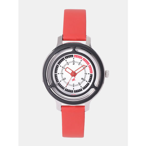 Fastrack Women Silver-Toned Analogue Watch NK6140KL02_OR2