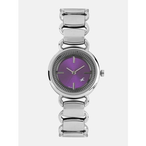 Fastrack Women Purple Analogue Watch NK6117SM02