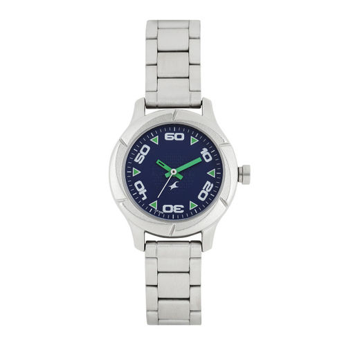 Fastrack Women Navy Blue Analogue Watch NK6141SM02