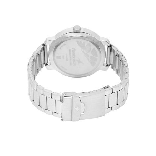 Fastrack Unisex Silver-Toned Analogue Watch NK3120SM01
