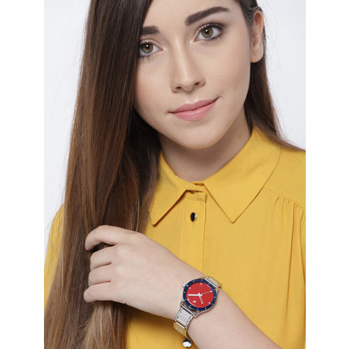 Fastrack Women Red Analogue Watch NK6078SM05_OR2