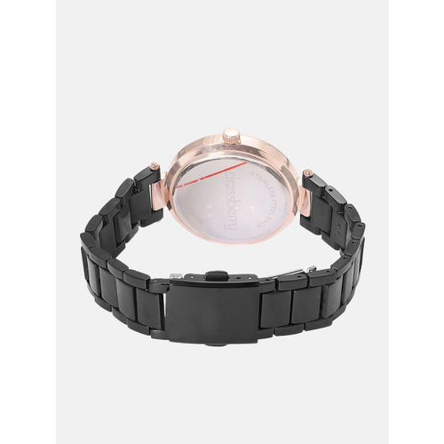 DressBerry Women Black Analogue Watch DW-18-DB8B