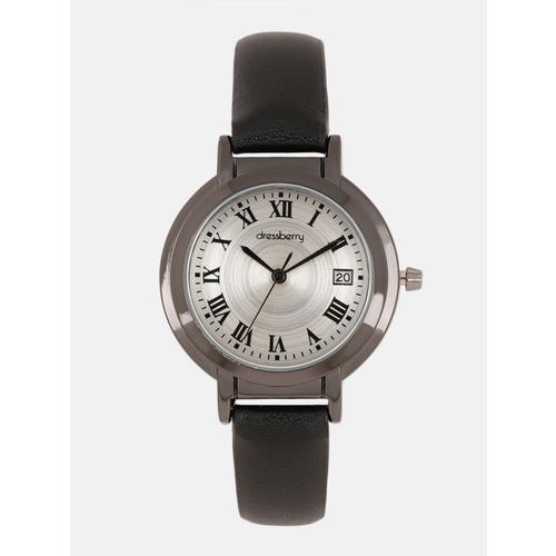 DressBerry Women Silver-Toned Analogue Watch MFB-PN-SNT-F14