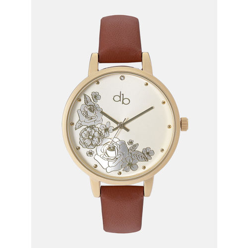 DressBerry Women Gold-Toned Analogue Watch DB18-3A