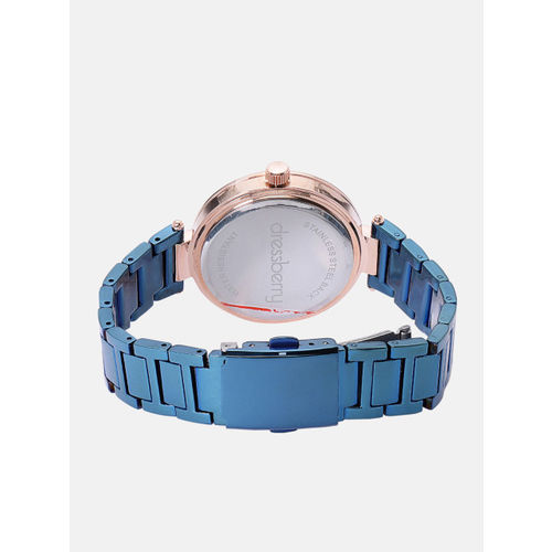 DressBerry Women Blue Analogue Watch DW-18-DB4A