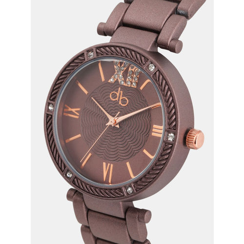 DressBerry Women Brown Analogue Watch TZ2523