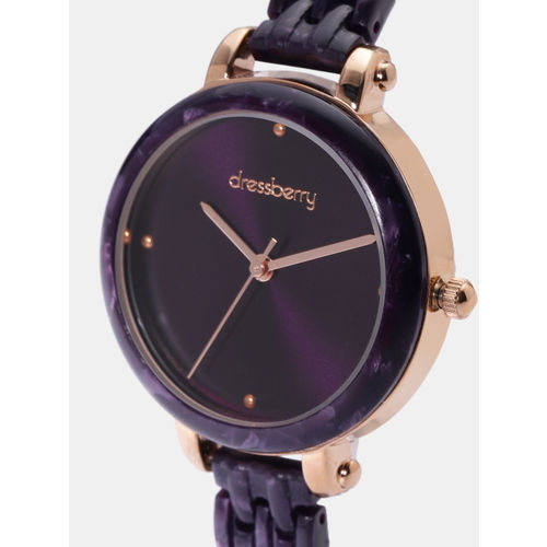 DressBerry Women Purple Analogue Watch U004-B