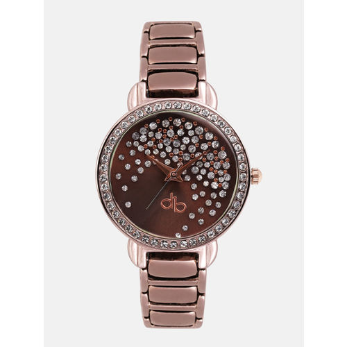 DressBerry Women Copper-Toned Analogue Watch DB2