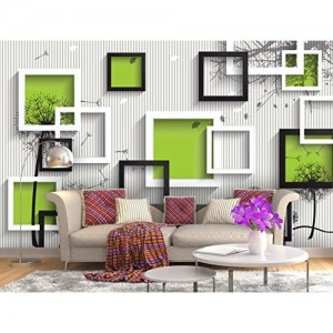 999Store 3D Abstract Pattern Wallpaper (Non-Wooven_Parent_Multi)