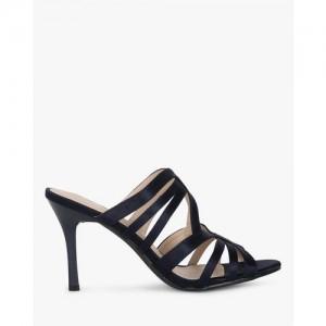 AJIO Open-Toe Strappy Stiletto Sandals