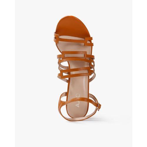 AJIO Strappy Chunky Heeled Sandals