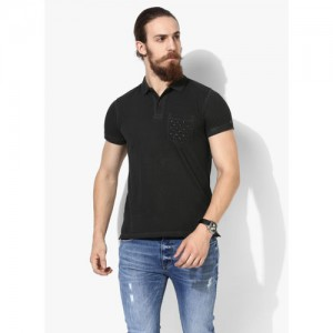 93c8dd3ab95 Buy Fleximaa Men s Cotton Polo Collar T-Shirts With Pocket ...