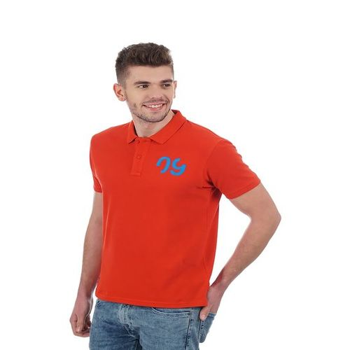 Pepe Jeans Red Polo Cotton T-Shirt