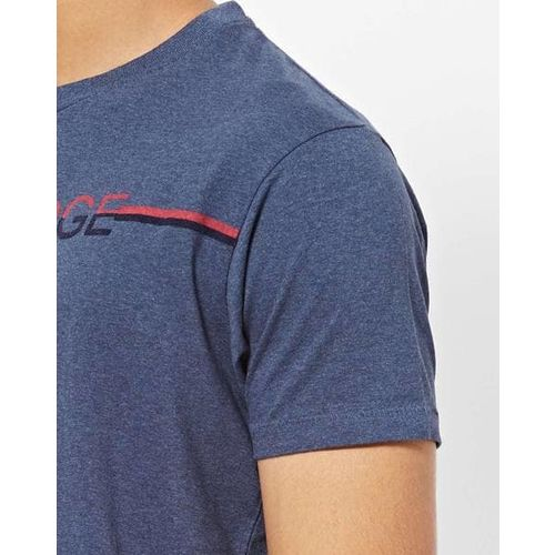 Pepe Jeans Typographic Print Slim Fit Crew-Neck T-shirt