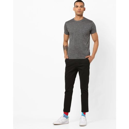 Pepe Jeans Printed Crew-Neck Slim Fit T-shirt