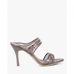 d8e382015e9 AJIO Stiletto Sandals with Clear Straps