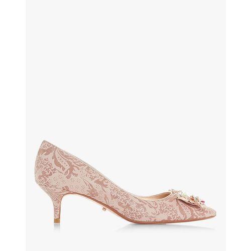 Dune London Beaumonte Embellished Kitten Heels