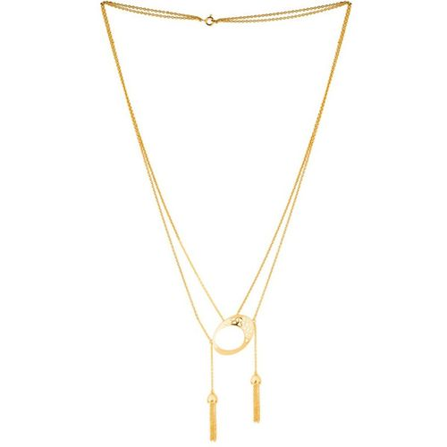 Voylla Gold-Plated Designer Amani Necklace Gold-plated Plated Brass Necklace