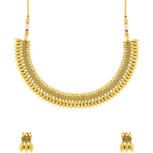 Voylla Gold-plated Plated Copper Necklace Set