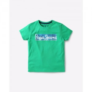 Pepe Jeans Printed Crew-Neck T-shirt