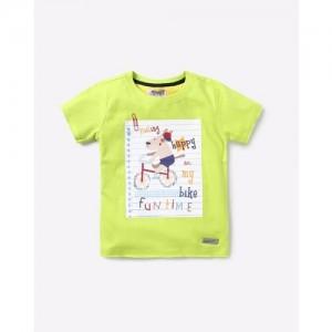 NAUTI NATI Graphic Print Crew-Neck T-shirt