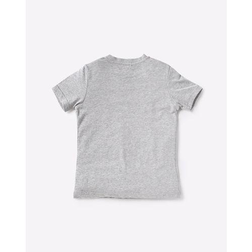 UNITED COLORS OF BENETTON Typographic Print Crew-Neck T-shirt