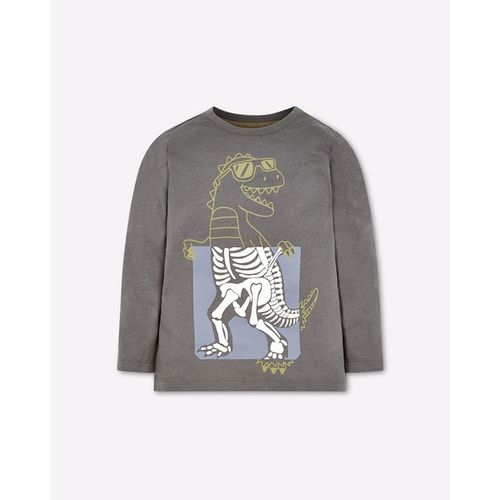 Mothercare Graphic Print Crew-Neck T-shirt