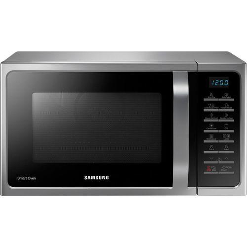 Samsung 28 L Convection Microwave Oven(MC28H5025VS/TL, Silver)