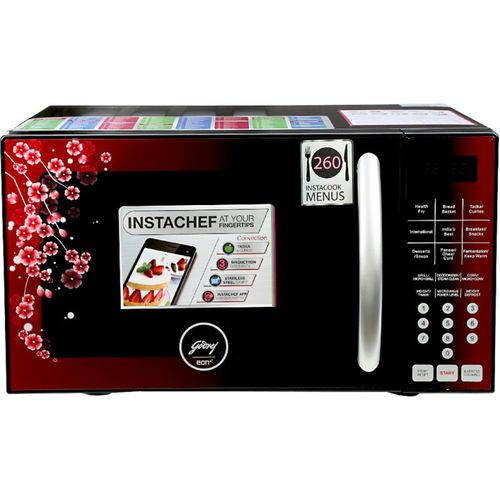 Godrej 25 L Convection Microwave Oven(GME 725 CF1 PZ, Cherry Blossom)