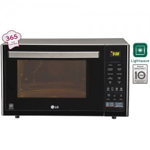 LG 32 L Convection Microwave Oven(MJ3296BFT, Black)