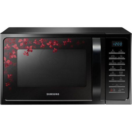 Samsung 28 L Convection Microwave Oven(MC28H5025VB/TL, Black Sanganeri Pattern)