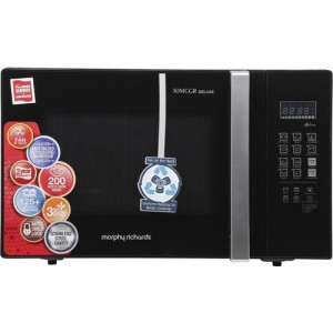 Morphy Richards 30 L Convection Microwave Oven(30 MCGR Deluxe, Black)