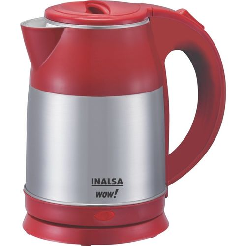 Inalsa Wow Electric Kettle(1.8 L, Grey, Red)