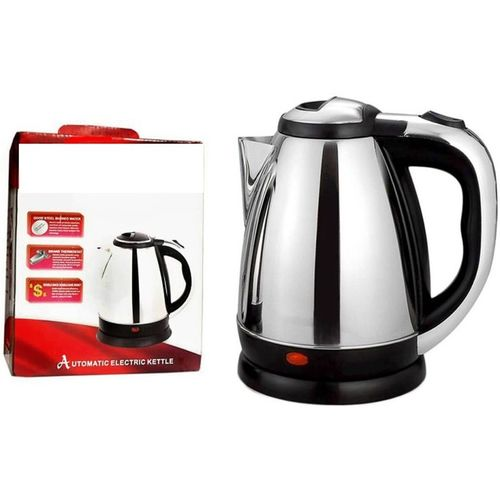 Wonder World Cordless Hot Water Coffee Tea Pot Boiler Kitchen Anmol Electric Kettle(1.7 L, Silver)