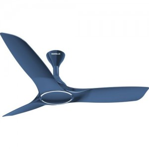 Havells Stealth Air 3 Blade Ceiling Fan(Indigo Blue, Pack of 1)