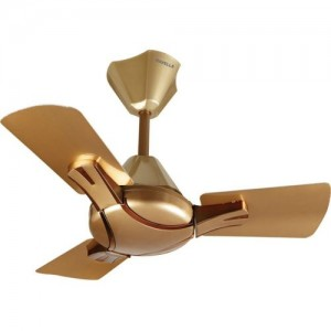 Havells 600 mm Bronze-Copper Ceiling fan 3 Blade Ceiling Fan(Bronze-Copper, Pack of 1)