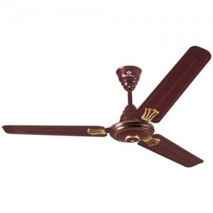 Bajaj New Bahar Deco 1200mm 3 Blade Ceiling Fan(Brown, Pack of 1)